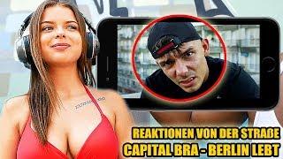 CAPITAL BRA - BERLIN LEBT || LIVE REAKTIONEN VON DER STRAßE #38 - Leon Lovelock