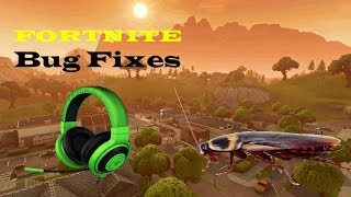 Fortnite | How To Fix Audio Glitch and Visual Bugs!