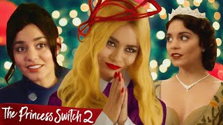 VANESSA HUDGENS HAS TWO BRITISH TWINS AND NOBODY CARES (PRINCESS SWITCH 2 w/ AARON & JO)