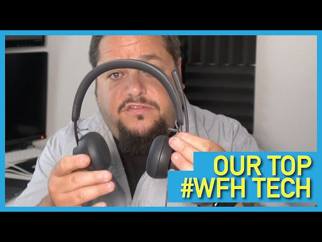 3 #WFH Tech Must Haves: Logitech Zone, TP Link Deco AX & 32