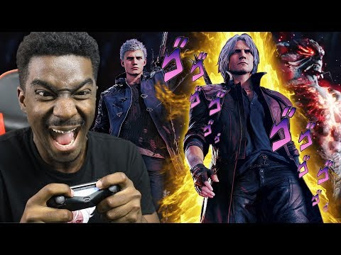 Weeb Plays Devil May Cry 5 For The First Time thumbnail