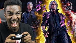 Weeb Plays Devil May Cry 5 For The First Time