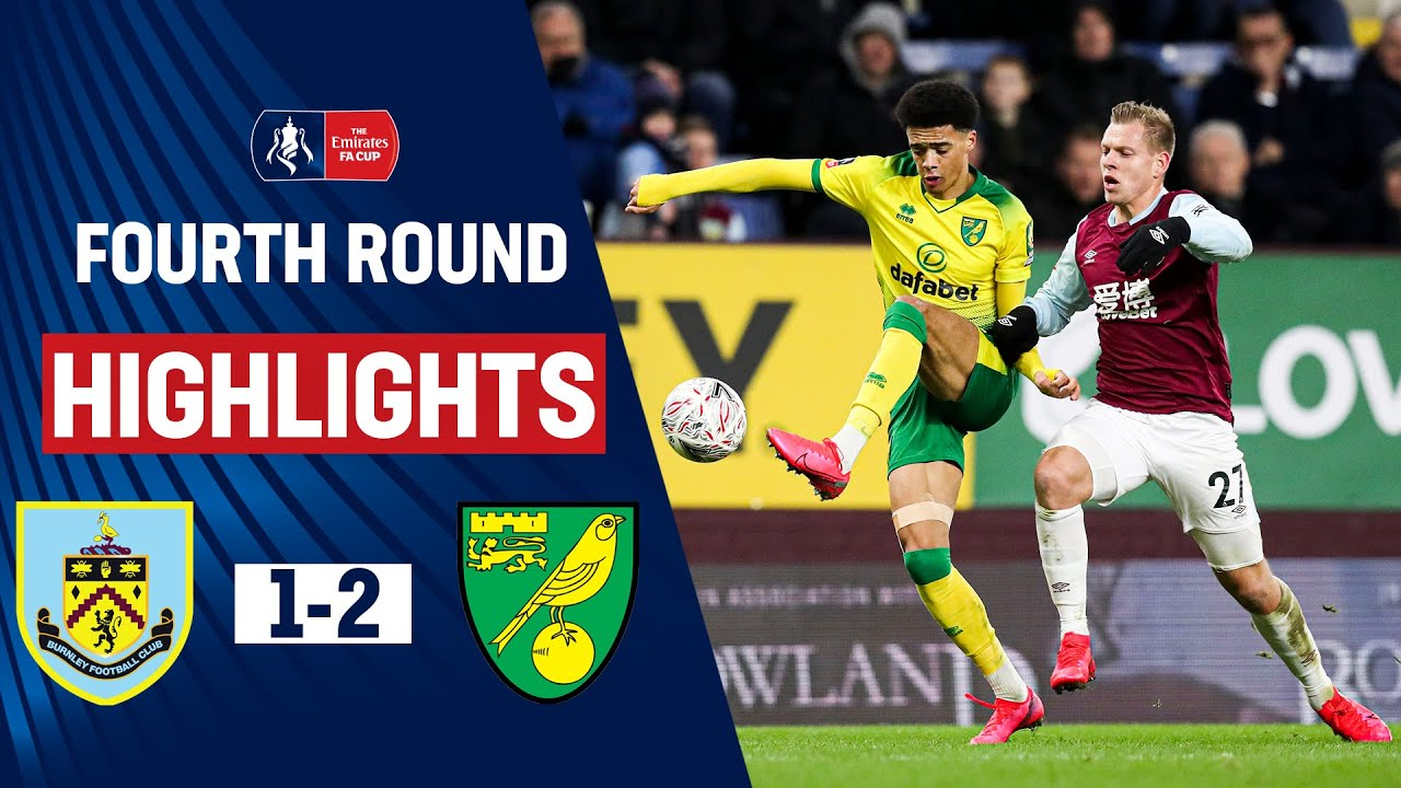 Hanley & Drmic Score as Canaries Hold On | Burnley 1-2 Norwich City | Emirates FA Cup 19/20