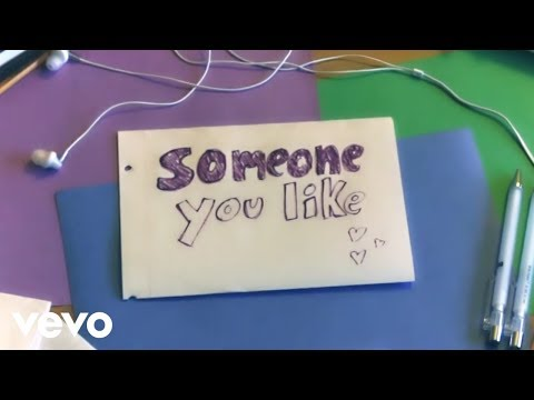 The Girl and the Dreamcatcher - Someone You Like (Official Lyric Video)