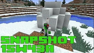 Minecraft 1.9 Snapshot 15w43 - IGLOOS WITH SECRET DUNGEON & LOOT CHANGES
