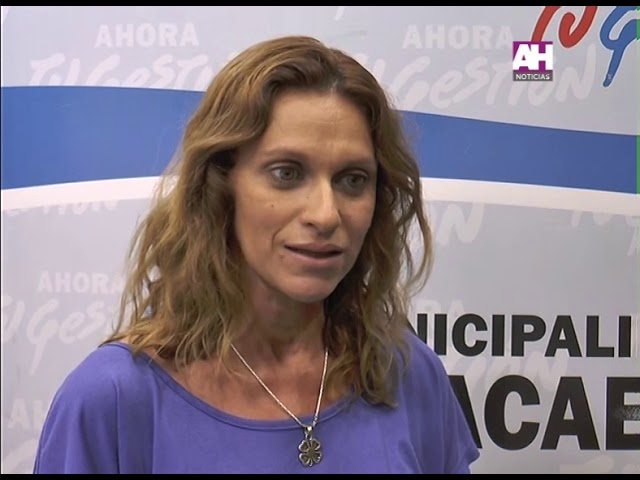 VERONICA ALESSANDRO   DIRECTORA AREA DE LA MUJER   SEMANA DE LA MUJER DEL 2 AL 8 DE MARZO
