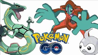 MORE GEN 3 NEWS!! DEOXYS!! CURVEBALL BUG FIXED - POKEMON GO