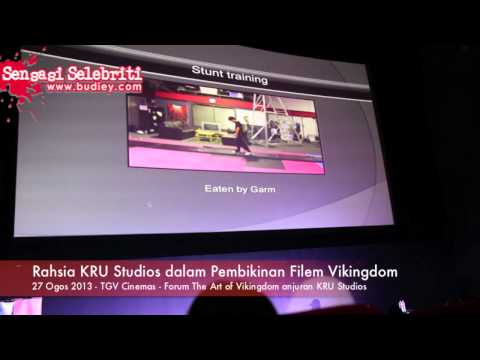 Rahsia KRU Studios dalam Pembikinan Filem Vikingdom