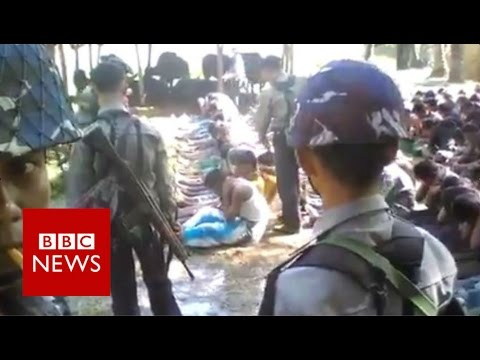 Myanmar police officers detained over Rohingya beatings vide