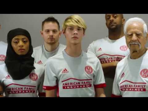 Atlanta United FC 2017 adidas Away Jersey - YouTube c3656f79ab97