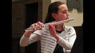 Kate: Sonata in F major, Op.11 #1, Larghetto & Giga-Allegro (G.F. Handel) - 2/16/2014
