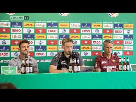 1. Runde DFB-Pokal | SVR - SGD | Pressekonferenz nach dem Spiel