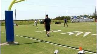 cam newton img madden 7 on 7 receivers skillz challenge bradenton fl clip 02