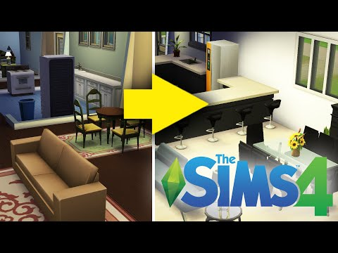 An Interior Designer Designs A Home in The Sims 4 • Professionals Play