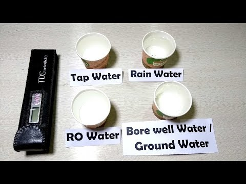 TDS in drinking water? (Check this out)