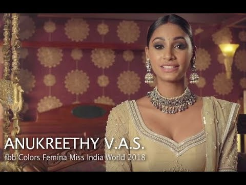 Anukreethy Vas's introduction video for Miss World 2018