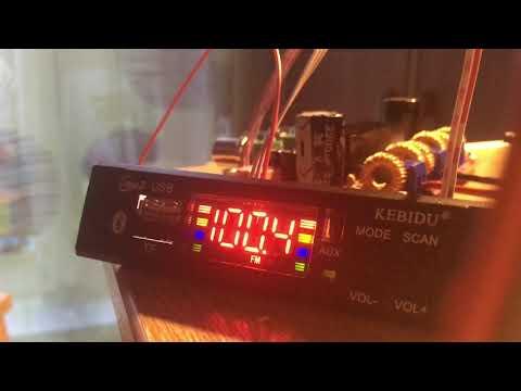Проблема с модулем мп3 из китая. Выключается в режиме радио.