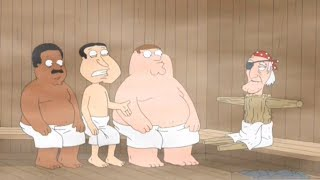The New Handicap Guy At The Spa | Family Guy