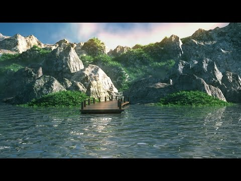 Making of mountains 3ds max tutorial - Environment modeling