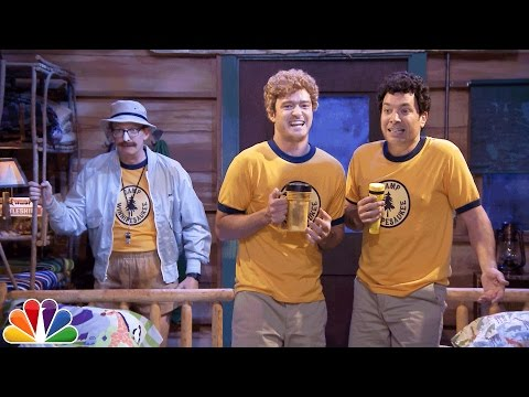 "Jimmy & Justin Timberlake Sing ""Ironic"" at Camp Winnipesaukee"