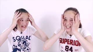 СОНЯ И ПОЛИНА Челлендж Башня Jenga Санс и Папирус UNDERTALE Видео для девочек