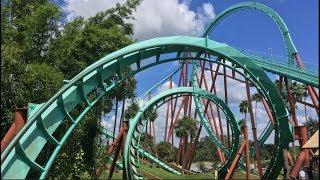 Busch Gardens Tampa Bay Vlog October 2018