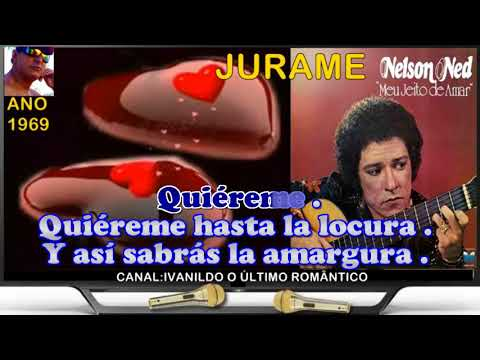 Jurame  - Nelson Ned  - Karaoke