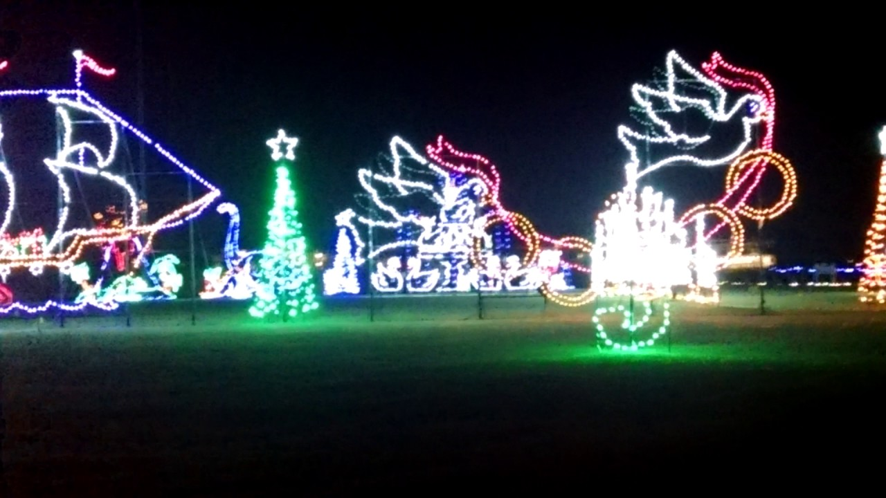 Ocean City MD Winter fest of Lights 2016 Merry Christmas - YouTube