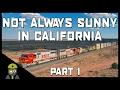 Train Simulator 2017 - Not Always Sunny In California - EMD SD75 - Part 1