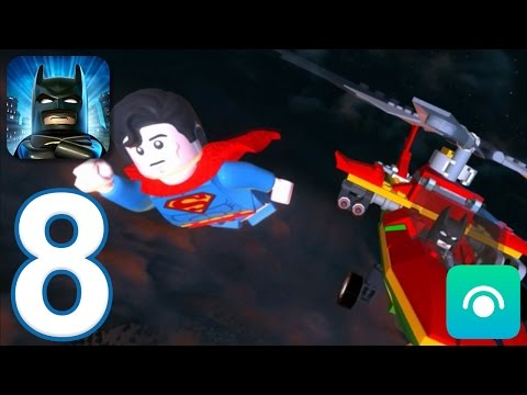 LEGO Batman: DC Super Heroes - Gameplay Walkthrough Part 8 (iOS, Android)