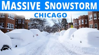 MONSTER SNOWSTORM BURIES CHICAGO!! | The Aftermath (1.33hrs.)