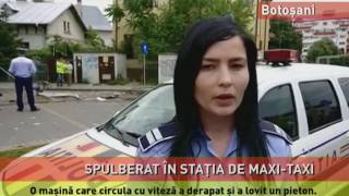 Accident mortal, la Botoșani