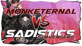 Match de l'Omnium League des Sadistics Scavengers contre les Monkey...