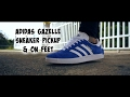 Adidas Gazelle Sneaker Pickup & On Feet | No HYPE!!!
