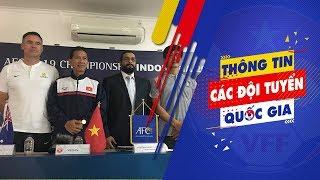 HLV Hoàng Anh Tuấn chốt danh sách 23 cầu thủ tham dự VCK U19 châu Á 2018   VFF Channel