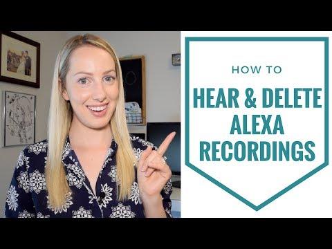 How to Hear & Delete Amazon Echo Conversations