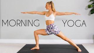 20 min MORNING YOGA (Full Body Flow/Stretch for Beginners)
