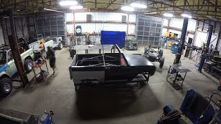 Classic Ford Bronco | Classic Ford Bronco Time Lapse Complete Body Build