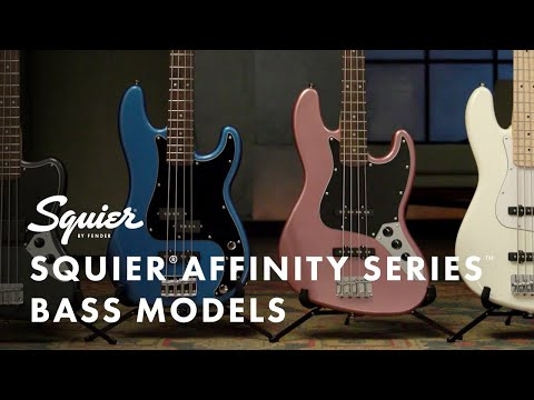 Exploring The Squier Affinity Series Bass Models | Fender