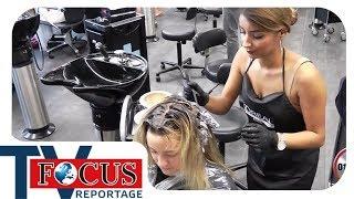 Färben, Föhnen, Frisieren! - Prüfungsstress für Nachwuchs-Friseure- Focus TV Reportage