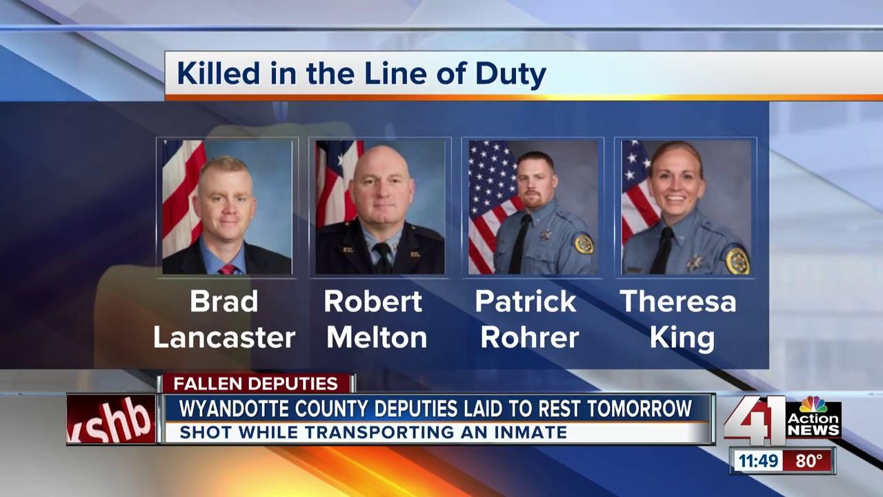 KCK community prepares to lay fallen Wyandotte County deputies to rest