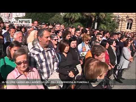 16/10/2019 | ADDIO AGLI AGENTI UCCISI: FOLLA COMMO...