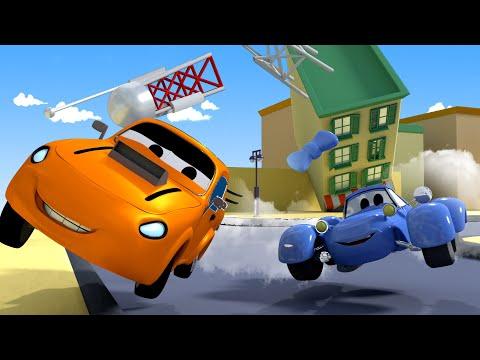 A corrida - A Super Patrulha na Cidade do Carro  Desenhos animados para crianças