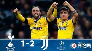 Tottenham 1 x 2 Juventus - Melhores Momentos - Champions League (07/03/2018)