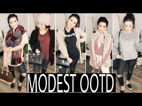 CUTE & MODEST OUTFITS   TIPS