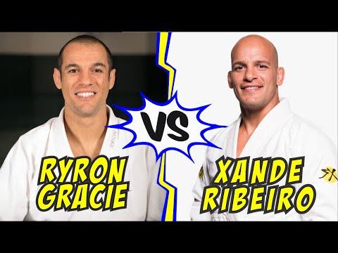 RYRON GRACIE JIU JITSU MATCH VS XANDE RIBEIRO | NEVER BEFORE SEEN!!! 😱