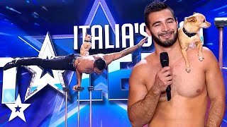 Judge's Are SPEECHLESS At Shirtless Dog Trainer! | Got Talent Global