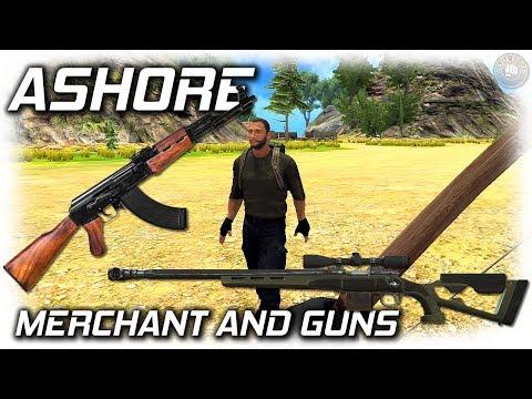 Ashore Craft and Escape | Merchant And Guns | EP4 | Ashore Gameplay