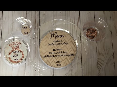 Personalized Party Plate And Cup Labels | Make It With Cricut | Tam's Sweet Life