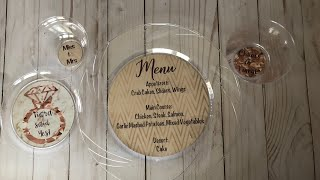 Personalized Party Plate and Cup labels   Make it with Cricut   Tam's Sweet Life